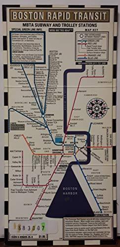9780935039351: Boston Mini Metro/Map (Mini Metro Maps)