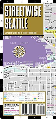 9780935039559: Streetwise Seattle: City Center Street Map of Seattle, Washington