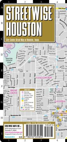 9780935039894: Streetwise Houston: City Center Street Map of Houston, Texas
