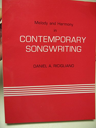 9780935058017: Melody and Harmony in Contemporary Songwriting