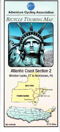 9780935108217: Bicycle Touring Map: Atlantic Coast #2