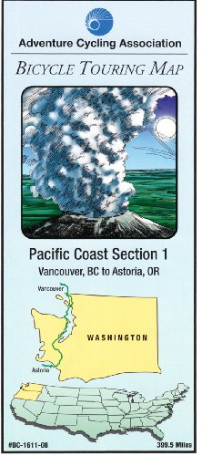 Pacific Coast Bicycle Route #1: Vancouver, British: Adventure Cycling Association