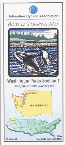 9780935108842: Bicycle Touring Map: Washington Park 1
