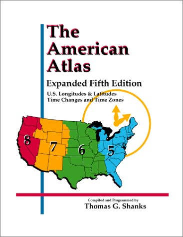 9780935127386: The American Atlas, Expanded 5th Edition