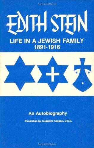 9780935216042: Life in a Jewish Family: Edith Stein - An Autobiography (Collected Works of Edith Stein, Vol 1)