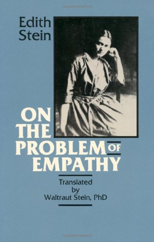 9780935216110: On the Problem of Empathy: The Collected Works of Edith Stein (3rd Volume)