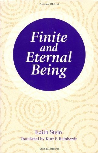 9780935216325: Finite and Eternal Being: An Attempt at an Ascent to the Meaning of Being (The Collected Works of Edith Stein, vol. 9) (Stein, Edith//the Collected Works of Edith Stein)