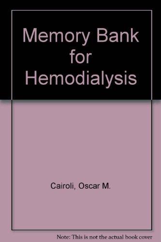 9780935236194: Memory Bank for Hemodialysis