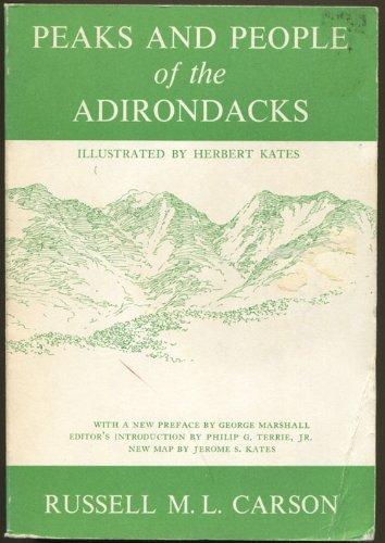 9780935272321: Peaks and People of the Adirondacks