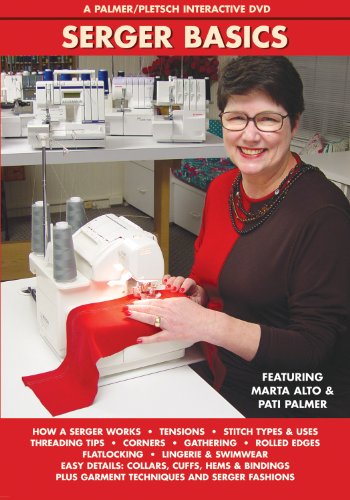9780935278590: Serger Basics: A Palmer/Pletsch Interactive Dvd
