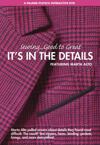 9780935278767: Sewing Good to Great: It's in the Details