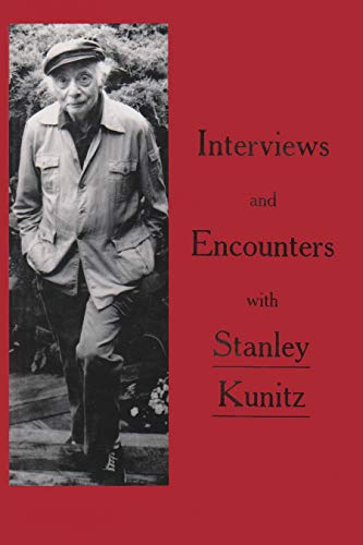 9780935296808: Interviews and Encounters with Stanley Kunitz