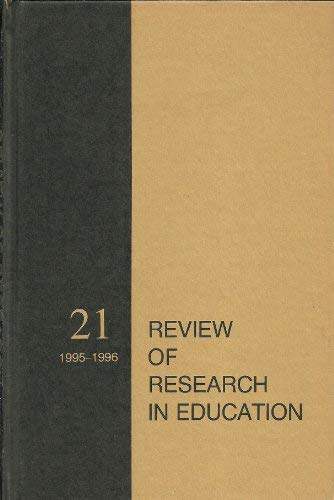 9780935302202: Review of Research in Education 1995-1996