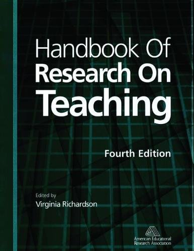 Handbook of Research on Teaching (4th Edition): American Educational Research