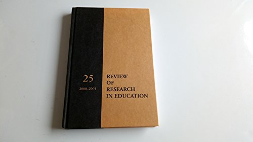9780935302271: Review of Research in Education 2000-2001