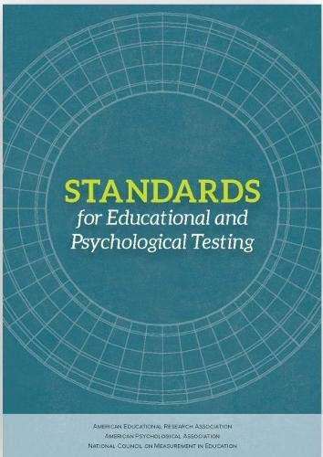9780935302356: Standards for Educational and Psychological Testing