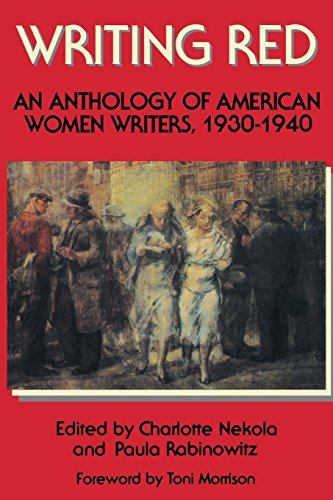 9780935312768: Writing Red: An Anthology of American Women Writers, 1930-1940