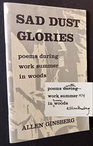 Sad Dust Glories Poems During Work Summer
