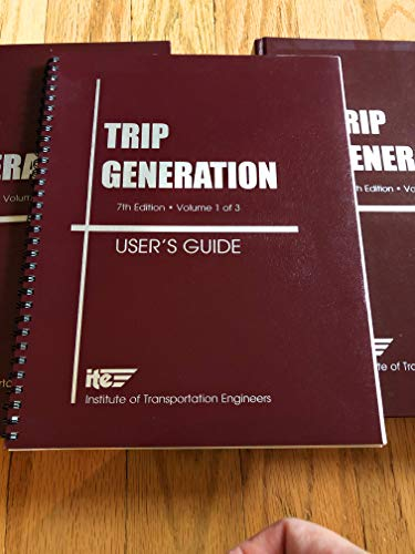 Trip Generation User's Guide - Complete 3-Vol.