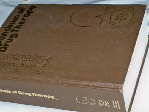 the Orthopedic Surgeon's Compendium of Drug Therapy 1982/1983