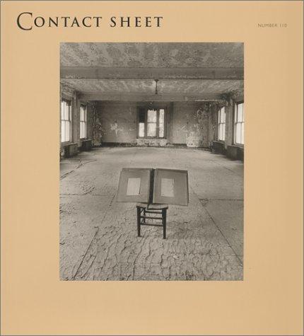 Contact Sheet 110 (Contact Sheet Series): Margaret Stratton