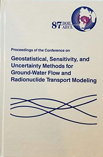 Proceedings of the Conference on Geostatistical, Sensitivity,