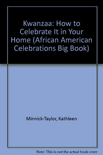 9780935483192: Kwanzaa: How to Celebrate It in Your Home (African American Celebrations Big Book)
