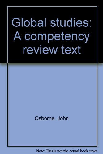 Global studies: A competency review text: Osborne, John