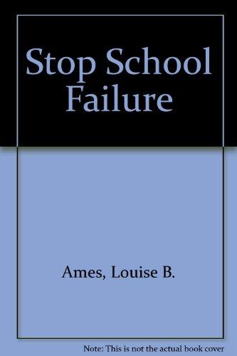 9780935493061: Stop School Failure