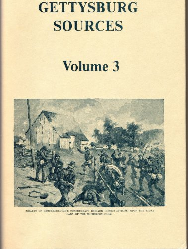 GETTYSBURG SOURCES - VOLUME 3: James and Judy McLean