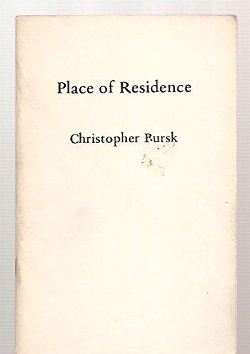 Place of Residence: Bursk, Christopher