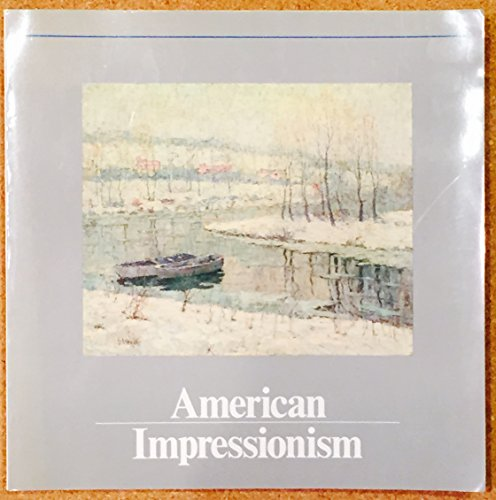 American impressionism: Gerdts, William H (signed by the author)