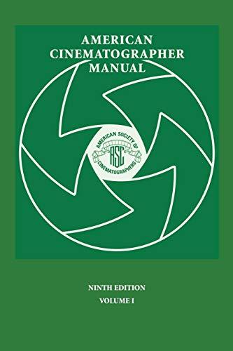 9780935578317: American Cinematographer Manual 9th Ed. Vol. I