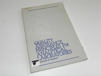 9780935584264: Quality assurance principles for analytical laboratories