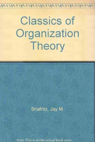9780935610024: Classics of Organization Theory