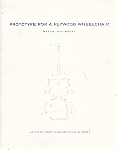 9780935617467: Prototype for a plywood wheelchair