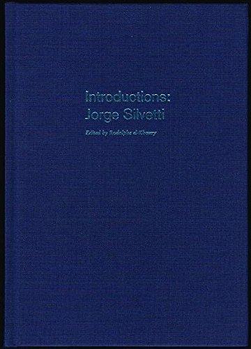 9780935617757: Jorge Silvetti: Introductions