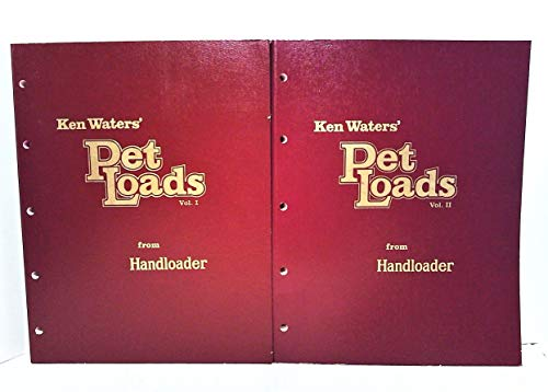 Ken Water's Pet Loads: Ken Waters