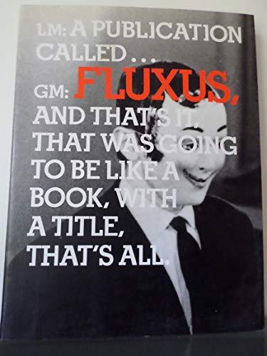 9780935640403: In the Spirit of Fluxus