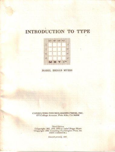 9780935652062: Introduction to Type