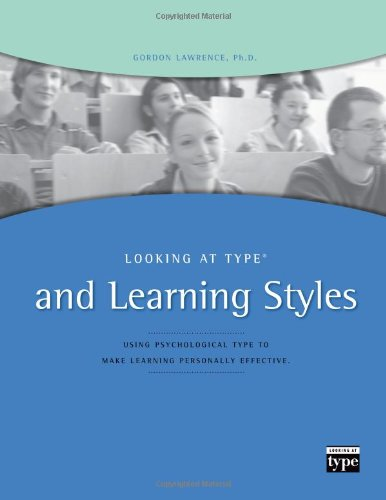 9780935652338: Looking at Type and Learning Styles