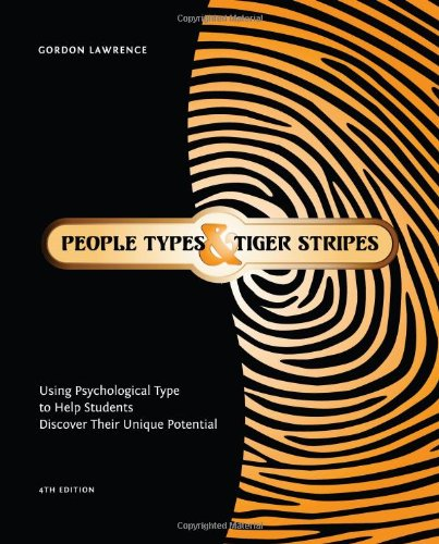9780935652871: People Types and Tiger Stripes: Using Psychological Type to Help Students Discover Their Unique Potential