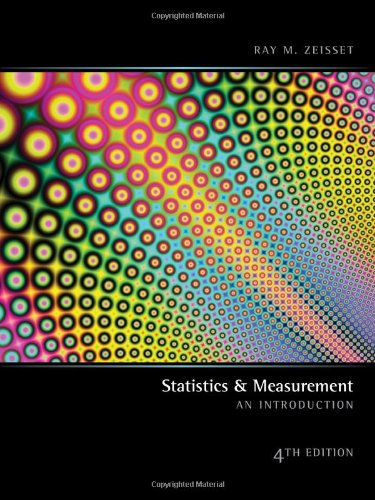 9780935652901: Statistics and Measurements: An Introduction