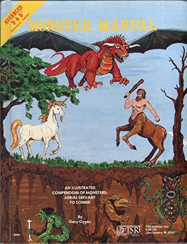9780935696004: Advanced Dungeons and Dragons Monster Manual: Special Reference Work