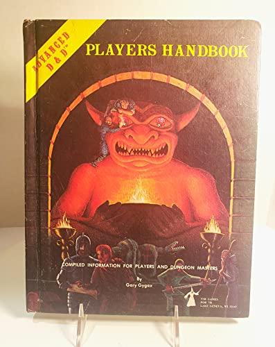 Official Advanced Dungeons & Dragons Players Handbook: Gary Gygax
