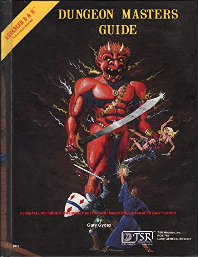 Advanced Dungeons & Dragons: Dungeon Master's Guide [Special Reference Guide]: Gary Gygax