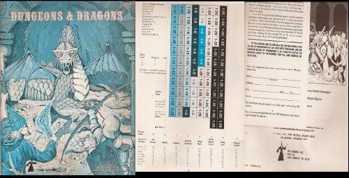 Basic Rulebook 4th-7th Printings, Wizard Logo (Basic: Gary Gygax, Dave