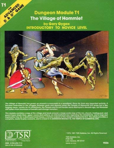 9780935696110: The Village of Hommlet (Advanced Dungeons & Dragons)