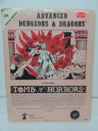 Tomb of Horrors (Advanced Dungeons & Dragons Module S1): Gary Gygax