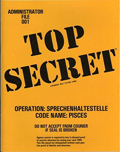 9780935696172: Operation Sprechenhaltestelle (Top Secret Administrator File 001)
